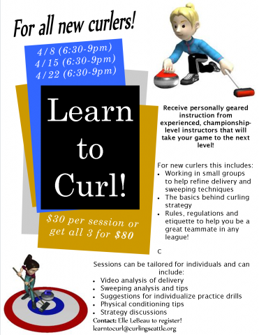 Learn To Curl In April Granite Curling Club Of Seattle